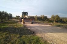 La Granadella repara més de 4,5 km de camins