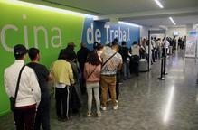 Un de cada deu contractes firmats l'any 2018 a Lleida era indefinit