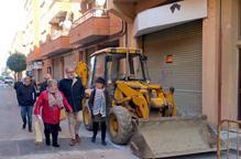 La Paeria millora el carrer les Roses i anuncia un gran parc a Palauet