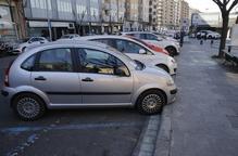 Inicien la construcció del carril bici a l'Avinguda Doctor Fleming de Lleida