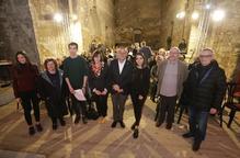 Vallverdú i Carles Feixa, al col·lectiu de suport a Pueyo