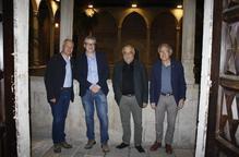 Enric Calpena i Joaquim Nadal debaten sobre la Guerra Civil