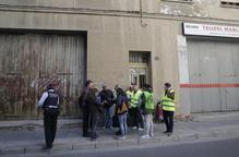 Paralitzat durant una setmana un desnonament al carrer Pau Claris