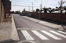 Més obres a l'avinguda de l'Esport de Castellserà