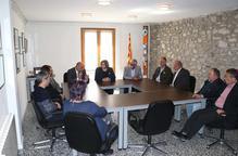 Perelló visita els projectes de la Diputació a la Cerdanya