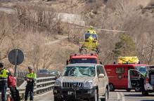 Mor un ciclista atropellat per un cotxe que va envair el seu carril a Martinet