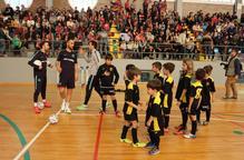 Balaguer es bolca amb el futbol sala blaugrana