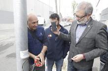 Lleida estrena un sistema antirobatori de cables elèctrics que avisa la Urbana a l'instant