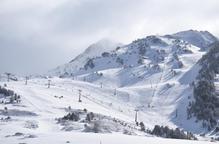 El Pirineu guanya 110 hectòmetres cúbics de neu en set dies
