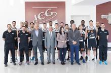 El Força Lleida visita les instal·lacions del patrocinador, ICG