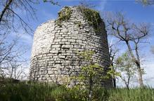 Milloren la fortificació medieval torre Vilalta de Sant Guim