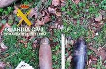 Desactiven 13 explosius de la guerra aquest any a Lleida
