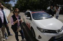 Una vintena de persones han utilitzat el taxi a l'Horta