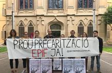 Els doctorands exigeixen que la UdL els apliqui la pujada salarial aprovada