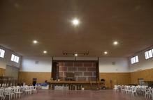 Preixana millora l'eficiència energètica del pavelló aïllant sostre i parets