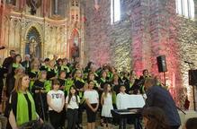 Concert de la coral i alumnes del Sant Miquel a Miralcamp
