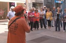 La Marea Pensionista fa balanç del seu primer any