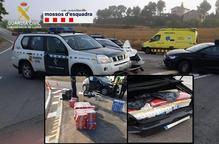 Detingut un contrabandista després d'una persecució entre Ponts i Jorba