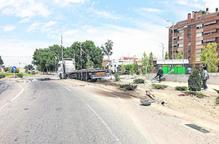 Dos camioners ebris a la Segarra i Mollerussa