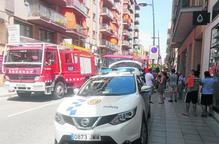 Incendi en un traster a Tàrrega i de palets a Aitona