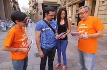 Lleidatans 'imparables' prenen el carrer