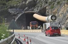 El túnel de Tres Ponts de la C-14 estarà perforat al setembre