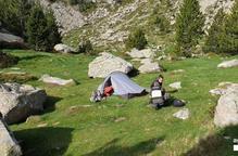 Denuncien 3 acampades il·legals a Aigüestortes
