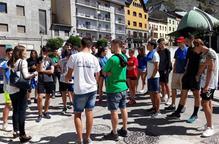 Joves recuperen camins històrics de l'Alta Ribagorça