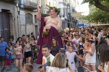 Bacus inaugura la setmana romana de Iesso