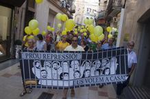 Manifestació per l'alliberament dels líders sobiranistes