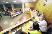 JxCat pacta amb independents i PSC a Alpicat en un ple amb protestes