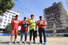 Campanya de Comissions Obreres de Lleida per prevenir cops de calor a la feina