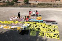 Nova retirada de símbols sobiranistes, ara a Sort