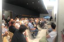 Unes 150 persones inauguren la nova sala de Mas Blanch i Jové