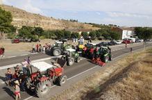 Afectats per l'incendi de la Ribera d'Ebre i Ponent mantenen la marxa lenta de dimecres