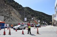 Andorra seguirà tallant el trànsit un cop oberta la via afectada per l'allau