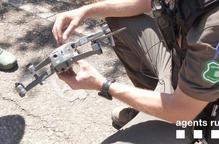 Nova multa per un dron sobre un espai natural