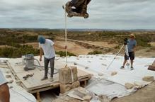 Comencen les obres a Llardecans per reconstruir l'Arc d'Adar