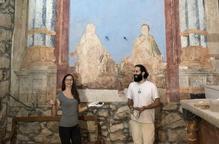 L'església de Butsènit completa la restauració de les pintures barroques