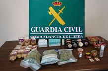 Detingut un home de 75 anys per vendre marihuana a la botiga