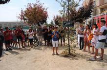 Emotiu homenatge del Palau al bomber que va perdre la vida a Horta