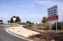 L'Incasòl només té a la venda el 10% del sòl dels seus polígons, gairebé esgotats o paralitzats