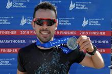 Xavi Jové bat la marca personal a la Marató de Chicago