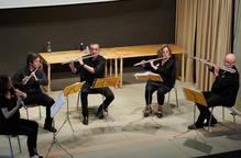 Un sextet de flautes al Festival de Concabella
