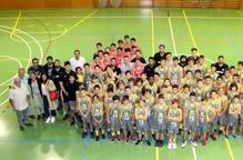 El Club Bàsquet Cappont i el Sícoris Club presenten els deu equips per a aquesta temporada