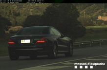 Sorprès conduint a 197 km/h per l'N-260 a Montferrer