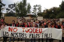 #SentènciaProcés: Mobilització per exigir la llibertat dels joves detinguts a Lleida