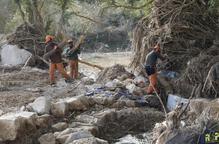 Despleguen màquines per restaurar el riu Gorg a l'Albi