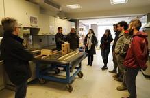 Fabricació de blocs de terra comprimida