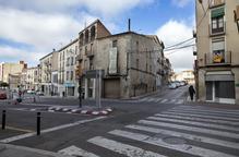 Cervera remodela l'avinguda Catalunya i el carrer Victòria